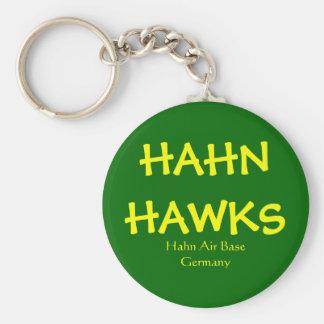 Hahn Hawks Keychain