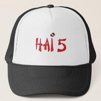 Hai 5 trucker hat
