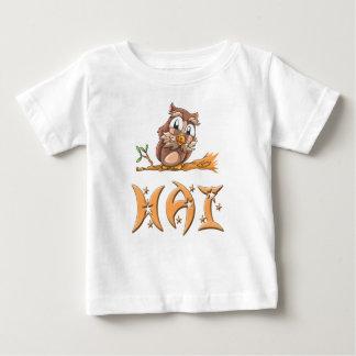Hai Owl Baby T-Shirt