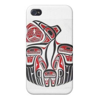 Haida Aboriginal Art Iphone Case iPhone 4/4S Covers