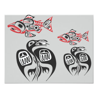Haida Art Personalized Announcements
