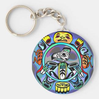 Haida Art Keychain