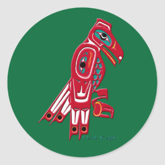 HAIDA COLLECTION CLASSIC ROUND STICKER