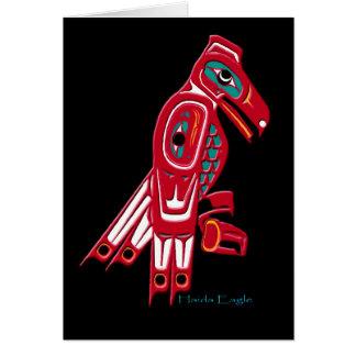 HAIDA EAGLE Collection Card