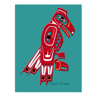 HAIDA EAGLE Postcards