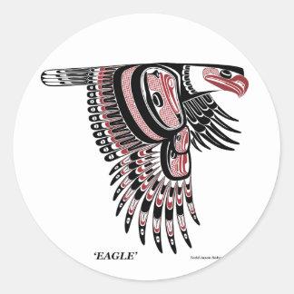 Haida Eagle sticker