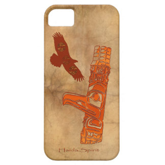 Haida Eagle & Totem Pole Native Art Case For The iPhone 5