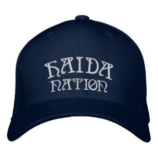 Haida Embroidered Baseball Cap Haida Cap