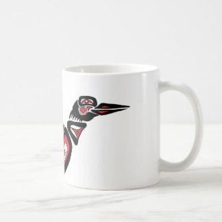 Haida Loon Basic White Mug
