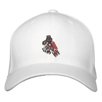 haida raven 2009 embroidered hat