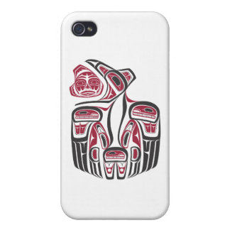 Haida Raven Design Case For iPhone 4