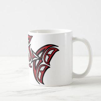 Haida salmon basic white mug