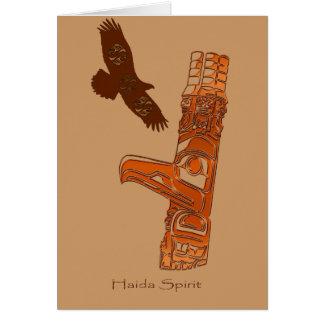 HAIDA SPIRIT Gift Collection Card