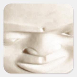 haida square sticker