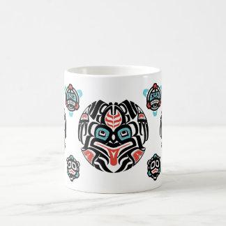 Haida-style Frog, Muted Colors - Tlingit Mug