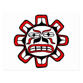 Haida Sun Postcard
