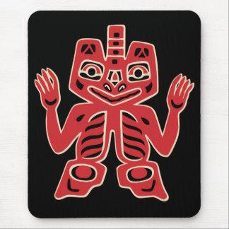 Haida Totem Design Mousepad