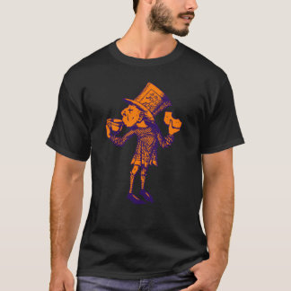 Haigha (Mad Hatter) Inked Purple Orange T-Shirt