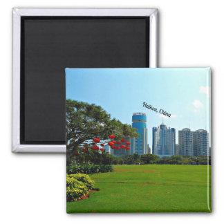 Haikou, China cityscape Magnet