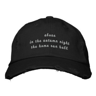 haiku baseball cap