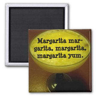 Haiku de margarita magnet carré