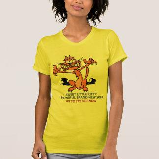 Haiku Scary Cat T-Shirt