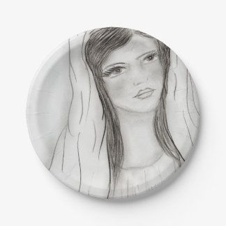 Hail Mary 7 Inch Paper Plate