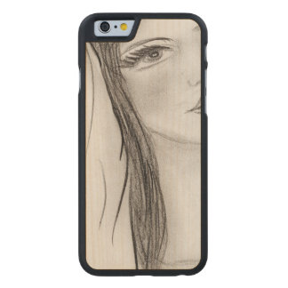 Hail Mary Carved Maple iPhone 6 Case