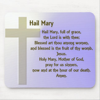 Hail Mary ~ customizable Mouse Pad