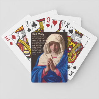 Hail Mary Deck of Cards