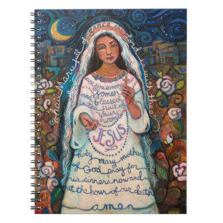 Hail Mary Journal Spiral Note Book