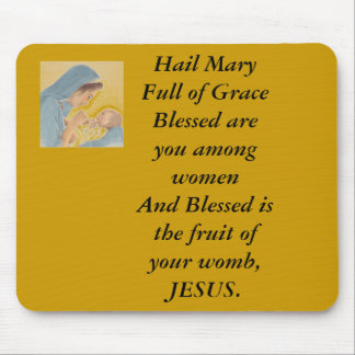 Hail Mary Mouse Pad