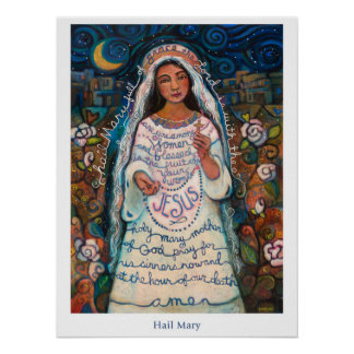 "Hail Mary Poster, 18x24"" Poster"