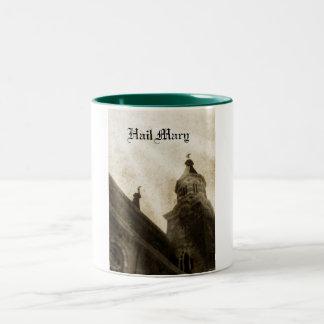 Hail Mary Two-Tone Coffee Mug