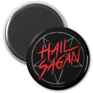 Hail Sagan 2 Inch Round Magnet