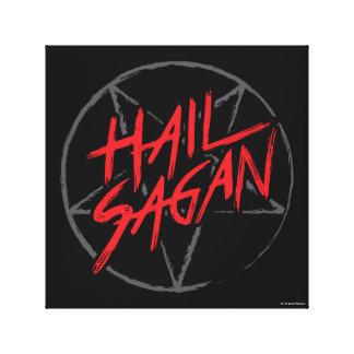 Hail Sagan Canvas Print