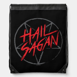 Hail Sagan Drawstring Bag