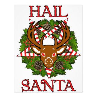 Hail Santa Letterhead