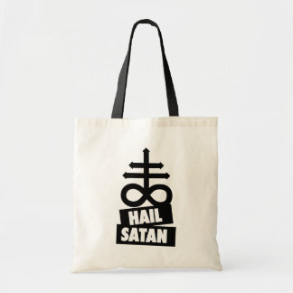 Hail Satan - 666 CROSSes Bag - anti-Christian dead
