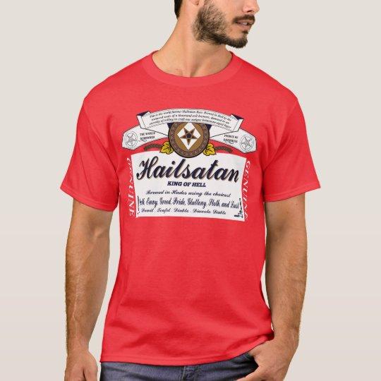 Hail Satan Beer Shirt