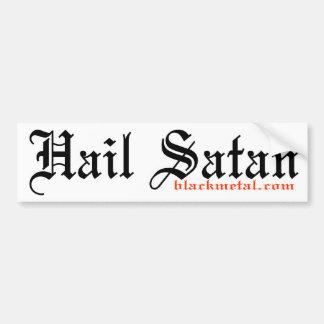Hail Satan Bumpersticker Bumper Sticker