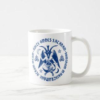 Hail Satan Goat Of Mendes Baphomet Satanic Coffee Mug