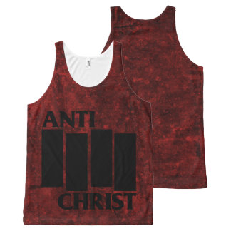 Hail Satan - Pentagram - anti-Christian 666 tank