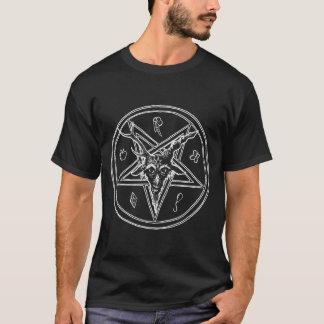 Hail Satan - Pentagram - Baphomet - 666 Cult shirt