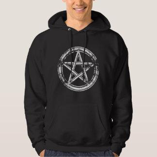 Hail Satan - Pentagram - CROSS - 666 - Hoodie