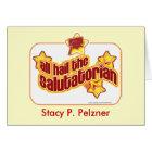Hail the salutatorian card