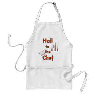 Hail To The Chef Standard Apron