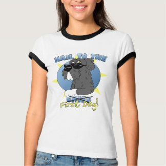 Hail to the First Dog Women's Ringer T-Shirt