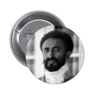 Haile Selassie 2 Inch Round Button