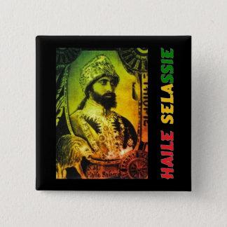 Haile Selassie Button